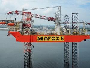 Seafox 5 Jackup Jenz Offshore